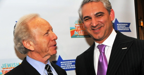 Sen. Joe Lieberman and Dr. David Samadi